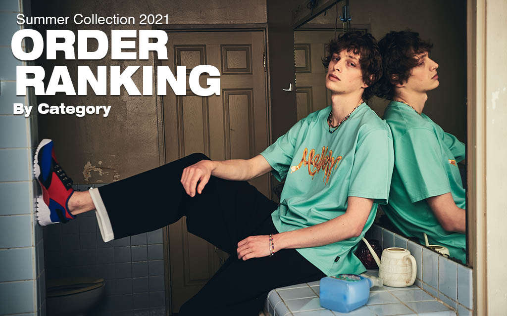 Summer Collection 2021 Order Ranking